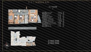 European-Style Flats in Prime Location of Istanbul, Property Plans-4