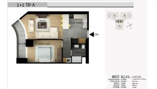 Apartments in Istanbul with the Highest Standard of Life, Property Plans-2