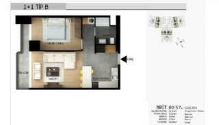 Apartments in Istanbul with the Highest Standard of Life, Property Plans-3