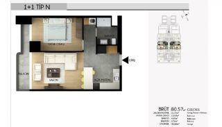 Apartments in Istanbul with the Highest Standard of Life, Property Plans-4