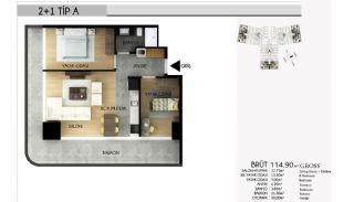 Apartments in Istanbul with the Highest Standard of Life, Property Plans-5