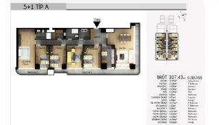 Apartments in Istanbul with the Highest Standard of Life, Property Plans-6