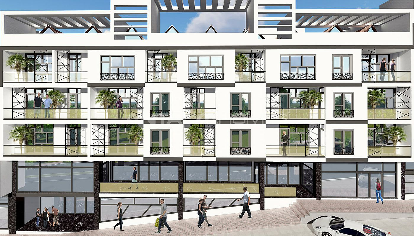 Istanbul Appartements Avec Installations Sociales
