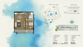 Fabulous Apartments with A+ Luxury Standards in Istanbul, Property Plans-3