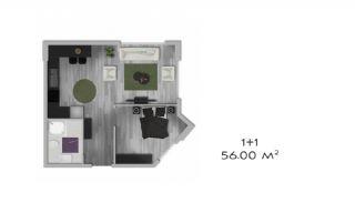 İstanbul'da Modüler Sistemli Satılık Daireler, Kat Planları-2