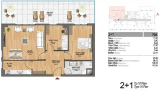 Modern Apartments Enriching Life Experience in Istanbul, Property Plans-2