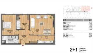 Modern Apartments Enriching Life Experience in Istanbul, Property Plans-7