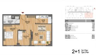 Modern Apartments Enriching Life Experience in Istanbul, Property Plans-8