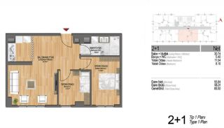 Modern Apartments Enriching Life Experience in Istanbul, Property Plans-9