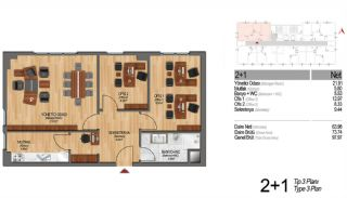 Modern Apartments Enriching Life Experience in Istanbul, Property Plans-10