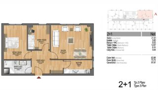 Modern Apartments Enriching Life Experience in Istanbul, Property Plans-12