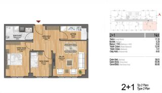 Modern Apartments Enriching Life Experience in Istanbul, Property Plans-13