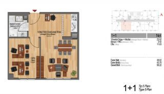 Modern Apartments Enriching Life Experience in Istanbul, Property Plans-15
