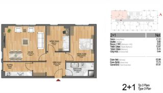 Modern Apartments Enriching Life Experience in Istanbul, Property Plans-17