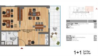 Modern Apartments Enriching Life Experience in Istanbul, Property Plans-18