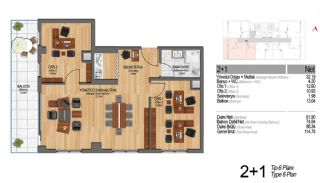 Modern Apartments Enriching Life Experience in Istanbul, Property Plans-20