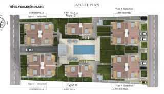 Key Ready Houses with Private Garden in Istanbul, Property Plans-1