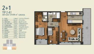 Stylish Apartments with Exceptional Location in Istanbul, Property Plans-1
