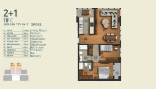 Stylish Apartments with Exceptional Location in Istanbul, Property Plans-4