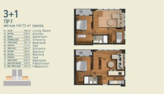 Stylish Apartments with Exceptional Location in Istanbul, Property Plans-12