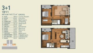 Stylish Apartments with Exceptional Location in Istanbul, Property Plans-13