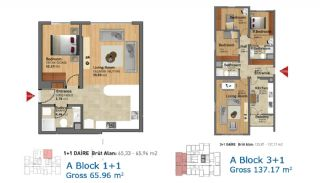 Ready Apartments in Istanbul with Rich Infrastructure, Property Plans-2