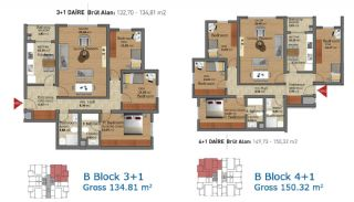 Ready Apartments in Istanbul with Rich Infrastructure, Property Plans-4