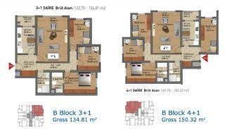 Fertige Wohnungen in Istanbul mit reicher Infrastuktur, Immobilienplaene-4