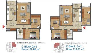 Fertige Wohnungen in Istanbul mit reicher Infrastuktur, Immobilienplaene-5