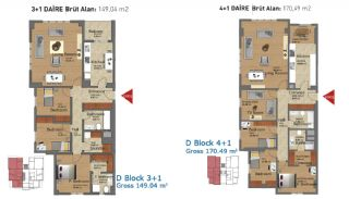 Ready Apartments in Istanbul with Rich Infrastructure, Property Plans-6