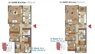 Fertige Wohnungen in Istanbul mit reicher Infrastuktur, Immobilienplaene-6