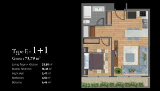 Istanbul Apartments Next to the TEM and Basin Express, Property Plans-5