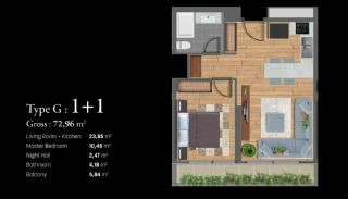 Istanbul Apartments Next to the TEM and Basin Express, Property Plans-7