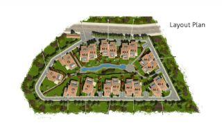 Natuurvriendelijke Istanbul Villas Omringd door het Bos, Vloer Plannen-1