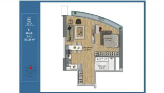 Centrally Located Smart Apartments in Kadikoy Istanbul, Property Plans-5