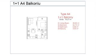 Stylish Istanbul Apartments on the Basin Express Way, Property Plans-4