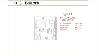 Stylish Istanbul Apartments on the Basin Express Way, Property Plans-8