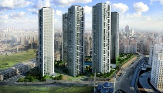 Quality Apartments Beside the E-5 Highway in Istanbul, Istanbul / Beylikduzu