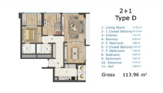 Cozy and Luxury Apartments on TEM Highway in Istanbul, Property Plans-3