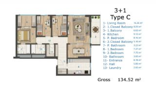 Cozy and Luxury Apartments on TEM Highway in Istanbul, Property Plans-4