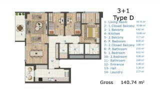 Cozy and Luxury Apartments on TEM Highway in Istanbul, Property Plans-5