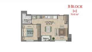آپارتمانهایی در مرکز استانبول با امکانات جامع, پلان ملک-2