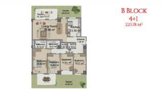 آپارتمانهایی در مرکز استانبول با امکانات جامع, پلان ملک-11