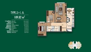 Recently Completed First-Class Real Estate in Istanbul, Property Plans-2