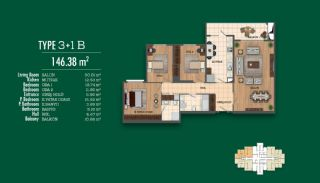 Recently Completed First-Class Real Estate in Istanbul, Property Plans-4