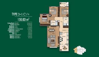 Recently Completed First-Class Real Estate in Istanbul, Property Plans-6