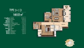 Recently Completed First-Class Real Estate in Istanbul, Property Plans-7