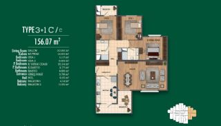 Recently Completed First-Class Real Estate in Istanbul, Property Plans-8
