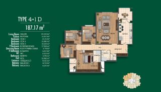 Recently Completed First-Class Real Estate in Istanbul, Property Plans-9