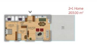 Istanbul Flats Designed as Home-Office on Basın Express Way, Property Plans-4